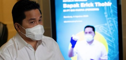 Erick Thohir Jamin Vaksin Corona Halal