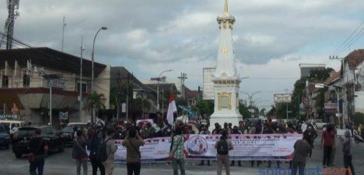 Ratusan Elemen Mahasiswa dan Pemuda Yogyakarta Dukung Pemerintah Atasi Covid 19
