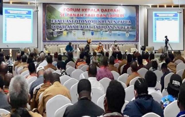 Sembilan Kepala Daerah di Papua Sepakat Otonomi Khusus Dilanjutkan