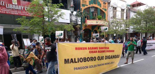 Paguyuban dan Komunitas Malioboro mengutuk Keras Demonstrasi Anarkisme!
