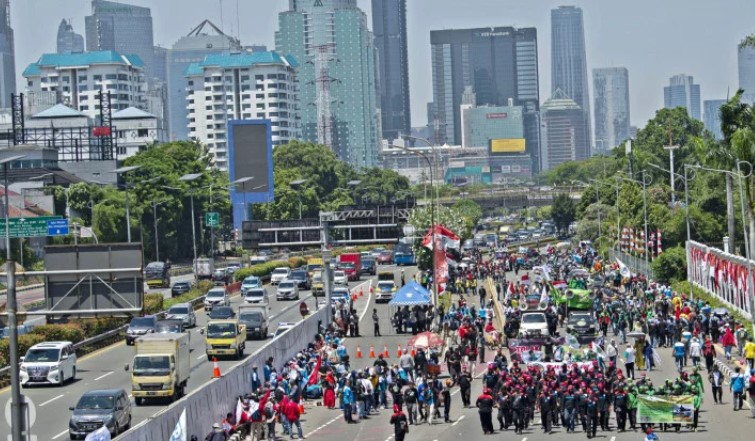 Presiden KSBSI : Aksi Mogok Nasional Sudah Ditunggangi Kelompok Politik Tertentu