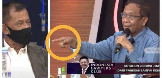 Di ILC TV One, Mahfud MD Kuliti Masa Lalu Gatot Nurmantyo Soal Gerakan KAMI: Bukan Apa-apa Dia!