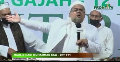 Menag Semprot Ceramah Lonte Habib Rizieq: Jangan Keluarkan Kata Kotor!