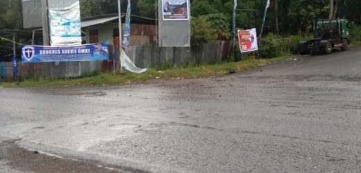 """Tersebar Spanduk Ajakan Markus Yenu """"Merah Putihkan"""" Tanah Papua"""