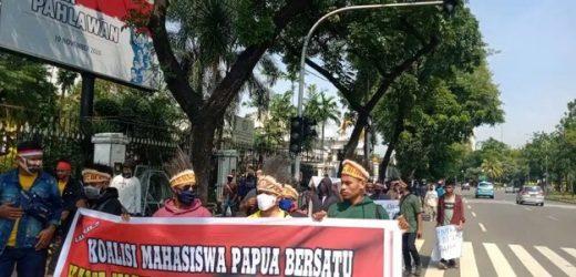 Ke Kemendagri, Mahasiswa Papua Dorong Otsus Papua Dilanjutkan