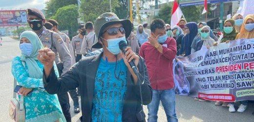 Pemuda di Aceh Gelar Aksi Tolak Keberadaan KAMI