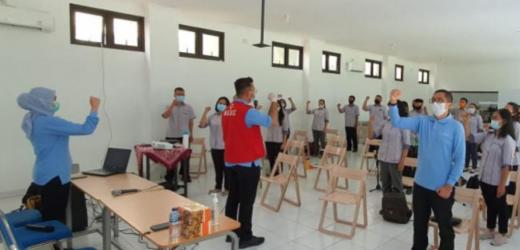 Datangi SMK Theresiana, BIN Edukasi Siswa Cegah Covid-19