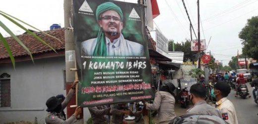 Ancaman Pangdam Jaya Bagi Warga yang Berani Pasang Baliho Rizieq Shihab