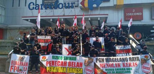 Masyarakat Magelang Menolak Kedatangan HRS dan FPI