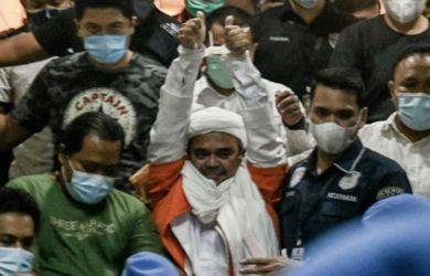Penegakan Hukum Terhadap Rizieq Shihab Sesuai Aturan