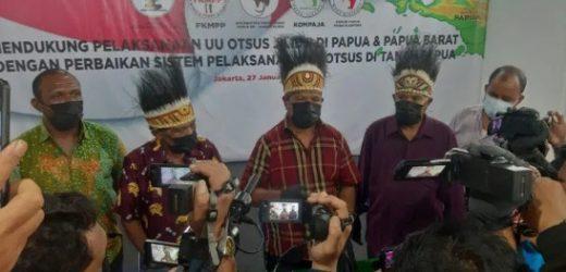 Tokoh Masyarakat Papua-Papua Barat Bersama Masyarakat Papua Diaspora Dukung OTSUS Papua Jilid II