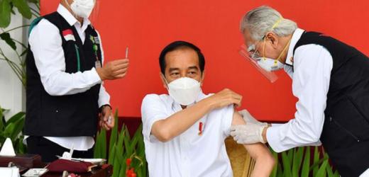 Ada Kabar Jokowi Tak Disuntikkan Vaksin Sinovac, Kemenkes: Itu Hoaks