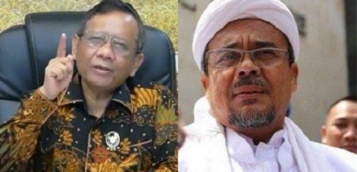 Kata Mahfud MD Soal Kasus Chat Mesum Rizieq Shihab Terkini