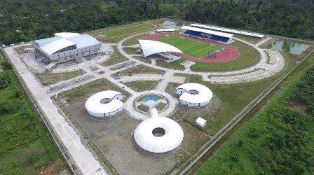 Venue Biliar PON XX Papua Rampung 95 Persen