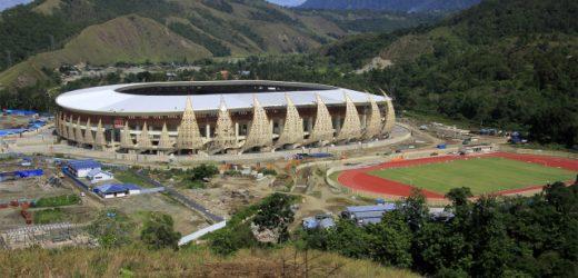 Istora Papua Bangkit, spesial dan terbesar di Indonesia