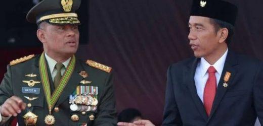 Gatot Nurmantyo Melupakan Jasa Presiden Jokowi