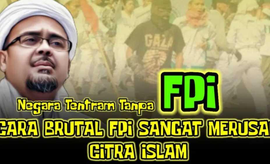 FPI Dukung ISIS dan Al-Qaeda, Akhirnya Dilarang