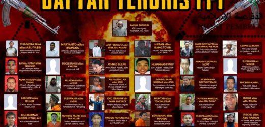 Terduga Teroris Ditangkap di Condet Mantan Anggota FPI