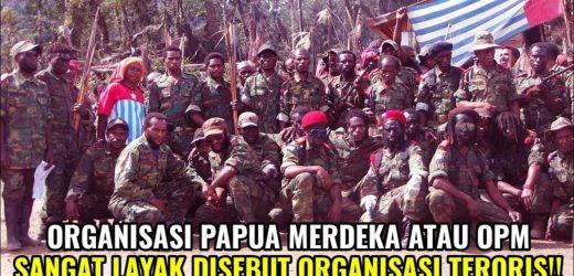 Pemerintah Tetapkan OPM Sebagai Organisasi Teroris