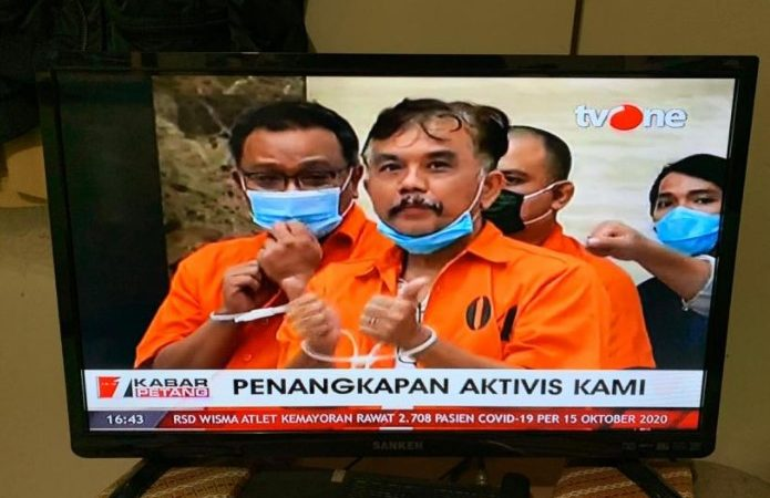 Syahganda Nainggolan Divonis 10 Bulan Penjara