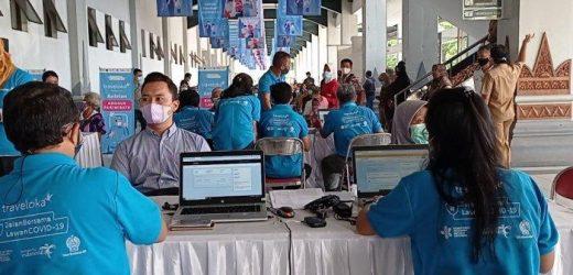 Sentra Vaksinasi Covid-19 Traveloka Layani 8.080 Penerima Vaksin di Yogyakarta Dalam Lima Hari
