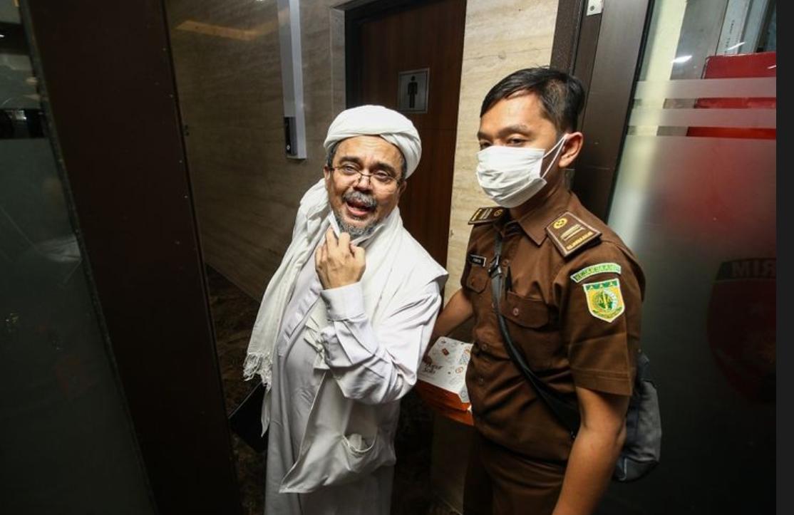 Jaksa Sebut Rizieq Shihab Kerap Berkata Kasar yang Tak Cerminkan Manusia Berakhlak