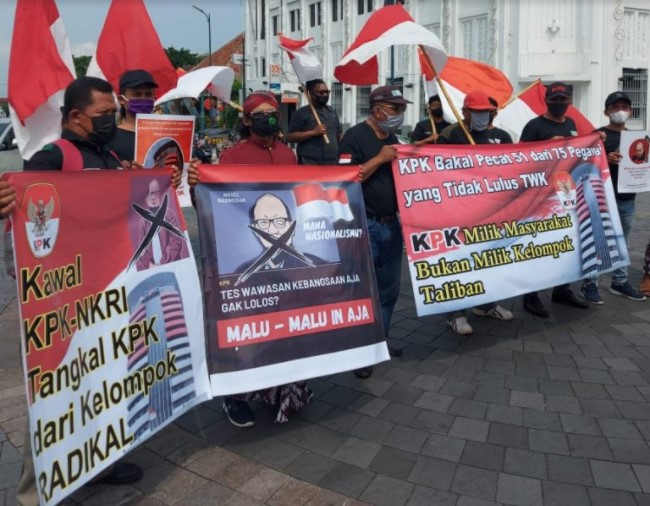 Aliansi Masyarakat Peduli Bangsa (AMPB) Yogyakarta Ragukan Nasionalisme Novel Baswedan Cs Soal TWK