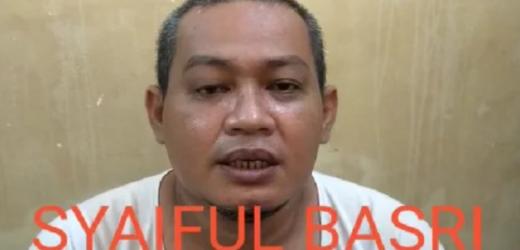 Pengakuan Teroris Syaiful Basri Eks Laskar FPI