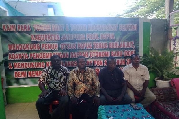 Tokoh Adat Kabupaten Jayapura Dukung Otsus Dilanjutkan dan DOB