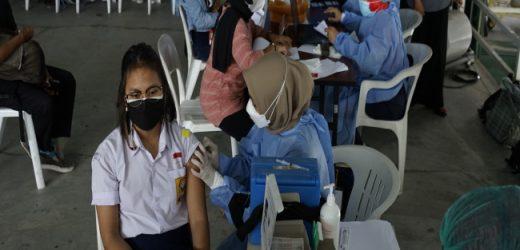 Yogyakarta awali pelaksanaan vaksinasi untuk anak diikuti 250 pelajar