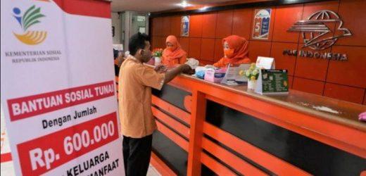 Bansos Tunai Rp 600 Ribu Cair, Ini Cara Pencairan di Kantor Pos, Cek di cekbansos.kemensos.go.id