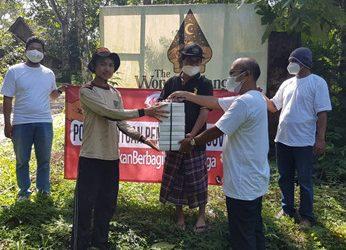 Pembagian Paket Bantuan Dari Relawan #GerakanBerbagiUntukWarga di Wilayah Kaliurang Kab. Sleman