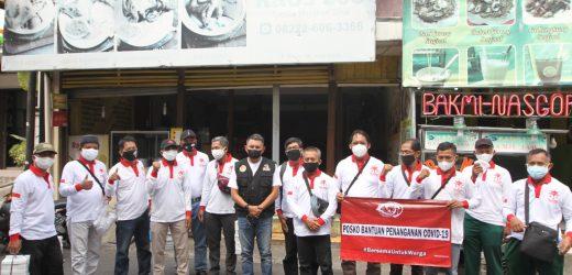 Komunitas Relawan Covid Bagikan Makan Siang dan Masker di Malioboro