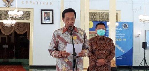 Sultan Umumkan Tiap Kalurahan di DIY Akan Digelontor Danais Rp50 Juta untuk Penanganan Covid-19