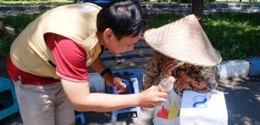 Relawan Pemuda Peduli Gunungkidul Sebar Ratusan Nasi Kotak