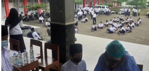 800 Pelajar Ponpes Darul Quran di Gunungkidul Ikuti Vaksinasi COVID-19