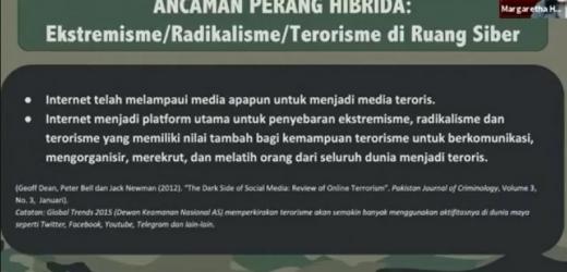 Pakar: Peluang TNI Lawan Ekstremisme Lewat Kontra Perang Hibrida