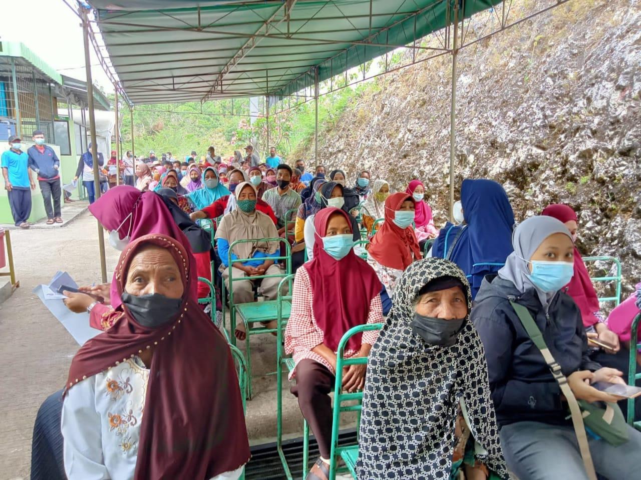 Vaksinasi Massal Kerjasama Antara BINDA DIY dan Dinkes Gunungkidul, Rampungkan Target